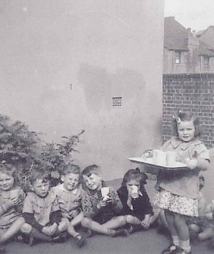 Morning Tea Time At The Surry Hills Day Nursery C 1934 Source Sdn Archive